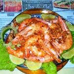 Aperitivo de camarão
