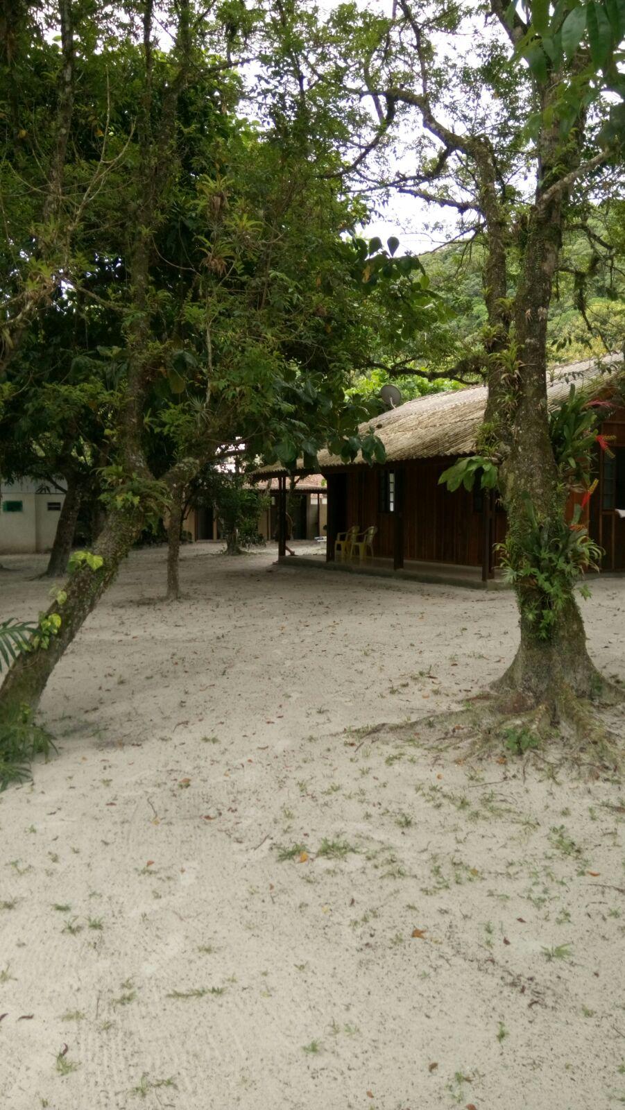 Camping com areia