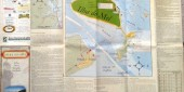 Primeiro Mapa Turístico da Ilha do Mel a quatro cores