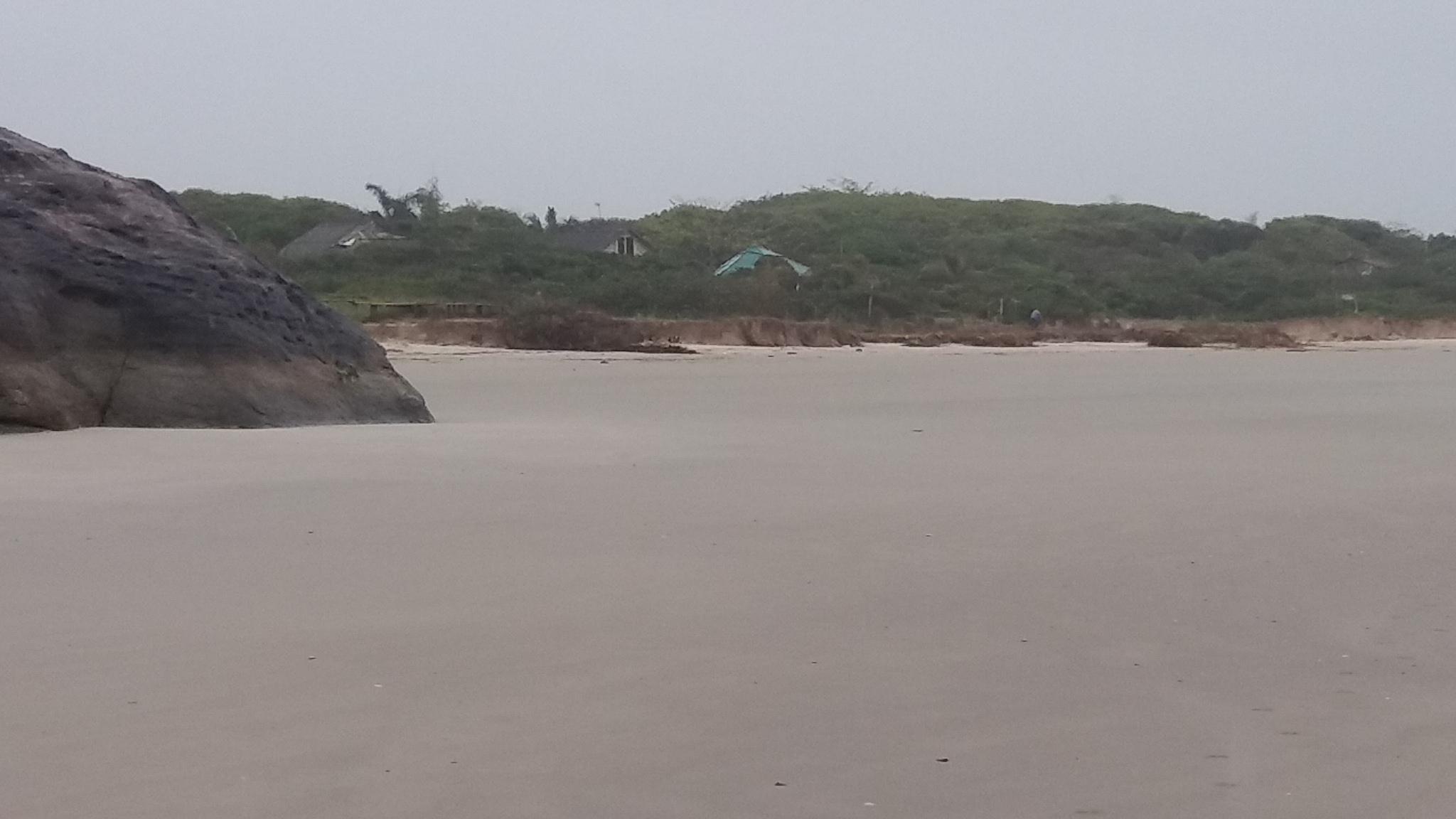 Pousada vista da praia