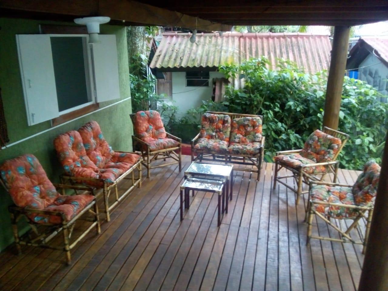 Sala de estar externa